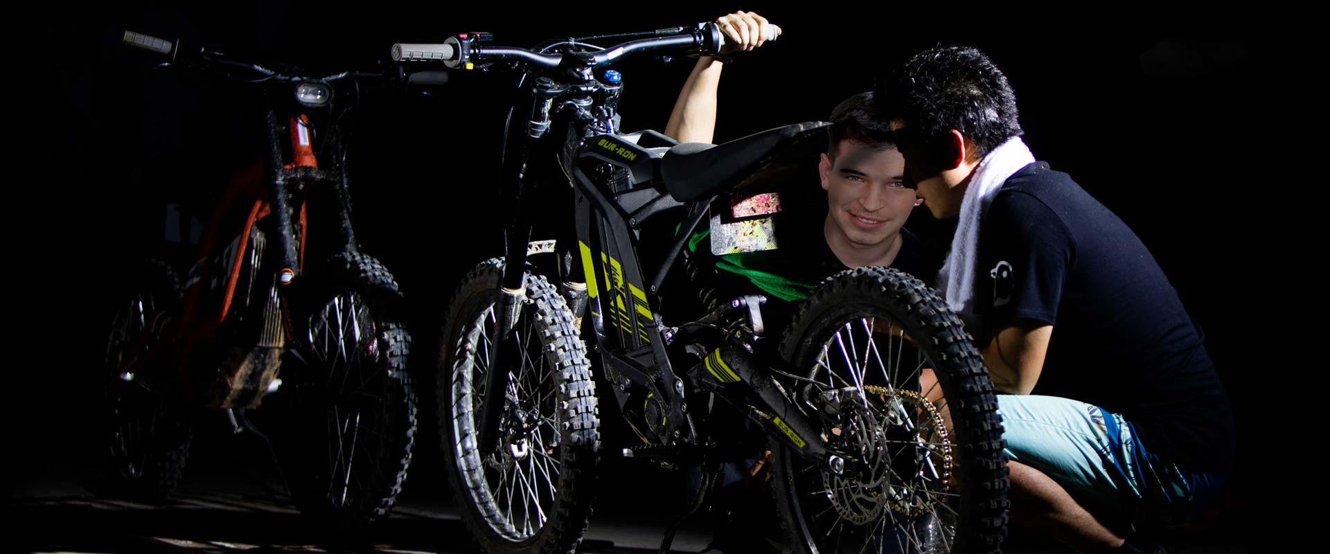 Sur-Ron, La moto / vélo 100% électrique !